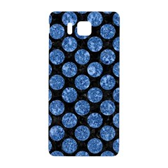 Circles2 Black Marble & Blue Marble (r) Samsung Galaxy Alpha Hardshell Back Case by trendistuff