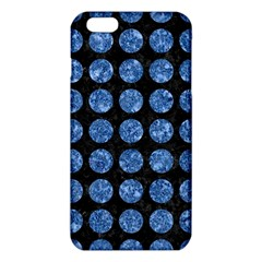 Circles1 Black Marble & Blue Marble (r) Iphone 6 Plus/6s Plus Tpu Case