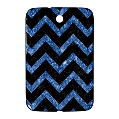 Chevron9 Black Marble & Blue Marble Samsung Galaxy Note 8 0 N5100 Hardshell Case  by trendistuff