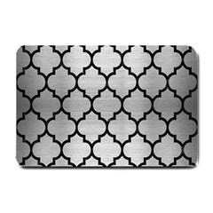 TIL1 BK MARBLE SILVER (R) Small Doormat  by trendistuff