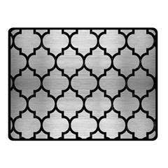 TIL1 BK MARBLE SILVER (R) Fleece Blanket (Small) by trendistuff