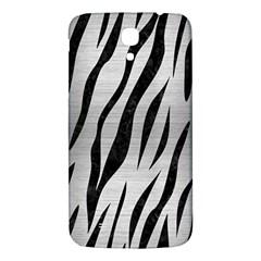Skin3 Black Marble & Silver Brushed Metal (r) Samsung Galaxy Mega I9200 Hardshell Back Case by trendistuff