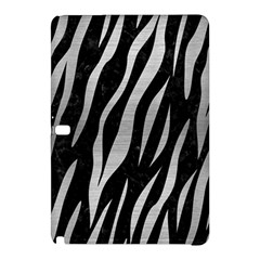 Skin3 Black Marble & Silver Brushed Metal Samsung Galaxy Tab Pro 10 1 Hardshell Case by trendistuff