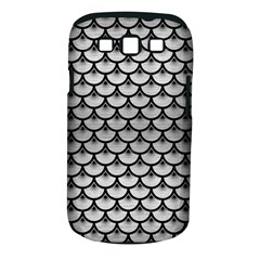 Scales3 Black Marble & Silver Brushed Metal (r) Samsung Galaxy S Iii Classic Hardshell Case (pc+silicone) by trendistuff