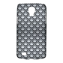 Scales2 Black Marble & Silver Brushed Metal (r) Samsung Galaxy S4 Active (i9295) Hardshell Case by trendistuff