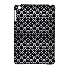 Scales2 Black Marble & Silver Brushed Metal Apple Ipad Mini Hardshell Case (compatible With Smart Cover) by trendistuff