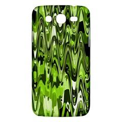 Funky Chevron Green Samsung Galaxy Mega 5 8 I9152 Hardshell Case  by MoreColorsinLife