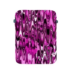 Funky Chevron Hot Pink Apple Ipad 2/3/4 Protective Soft Cases by MoreColorsinLife