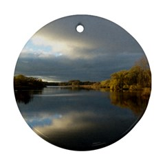View   On The Lake Ornament (round)