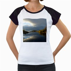 View   On The Lake Women s Cap Sleeve T