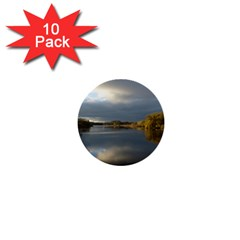 View   On The Lake 1  Mini Buttons (10 Pack)
