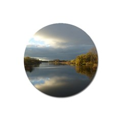 View   On The Lake Magnet 3  (round) by Costasonlineshop