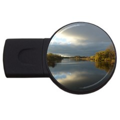 View   On The Lake Usb Flash Drive Round (2 Gb)
