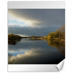 View   On The Lake Canvas 11  X 14   by Costasonlineshop