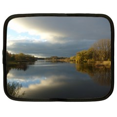 View   On The Lake Netbook Case (xl)