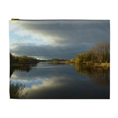 View   On The Lake Cosmetic Bag (xl) by Costasonlineshop