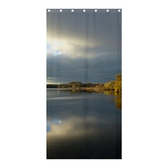 View   On The Lake Shower Curtain 36  X 72  (stall)