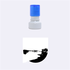 View   On The Lake Rubber Round Stamps (small) by Costasonlineshop