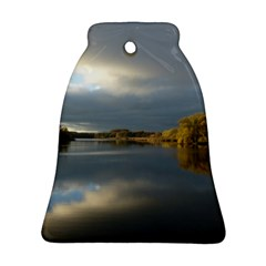 View   On The Lake Ornament (bell)