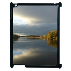 View   On The Lake Apple Ipad 2 Case (black) by Costasonlineshop
