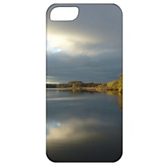 View   On The Lake Apple Iphone 5 Classic Hardshell Case by Costasonlineshop