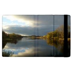 View   On The Lake Apple Ipad 2 Flip Case by Costasonlineshop