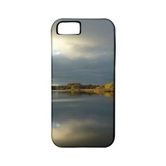 View   On The Lake Apple Iphone 5 Classic Hardshell Case (pc+silicone)