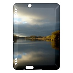 View   On The Lake Kindle Fire Hdx Hardshell Case