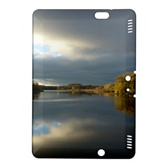 View   On The Lake Kindle Fire Hdx 8 9  Hardshell Case by Costasonlineshop