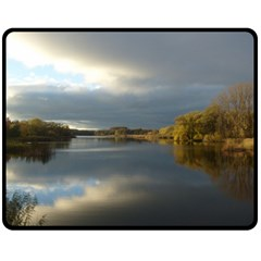 View   On The Lake Double Sided Fleece Blanket (medium)