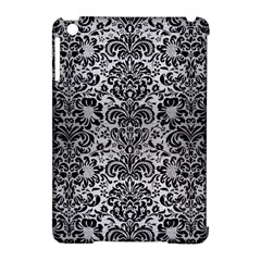 DMS2 BK MARBLE SILVER (R) Apple iPad Mini Hardshell Case (Compatible with Smart Cover) by trendistuff