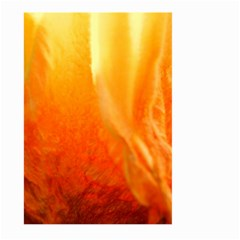 Floating Orange And Yellow Large Garden Flag (two Sides) by timelessartoncanvas