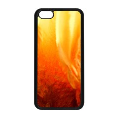 Floating Orange And Yellow Apple Iphone 5c Seamless Case (black) by timelessartoncanvas