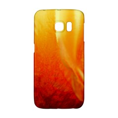 Floating Orange And Yellow Galaxy S6 Edge by timelessartoncanvas
