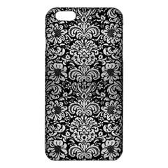 Damask2 Black Marble & Silver Brushed Metal Iphone 6 Plus/6s Plus Tpu Case by trendistuff