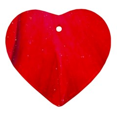 Red And Beautiful Ornament (heart)  by timelessartoncanvas