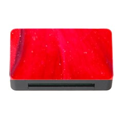 Red And Beautiful Memory Card Reader With Cf by timelessartoncanvas