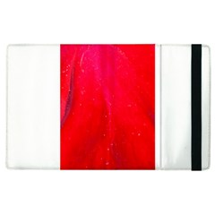 Red And Beautiful Apple Ipad 2 Flip Case by timelessartoncanvas