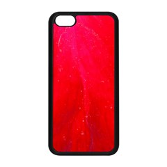 Red And Beautiful Apple Iphone 5c Seamless Case (black) by timelessartoncanvas