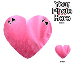 Floating Pink Playing Cards 54 (heart)