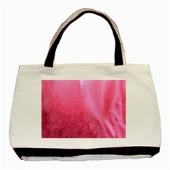 Floating Pink Basic Tote Bag (two Sides) by timelessartoncanvas
