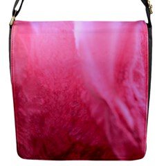 Floating Pink Flap Messenger Bag (s) by timelessartoncanvas
