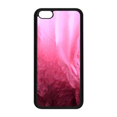Floating Pink Apple Iphone 5c Seamless Case (black) by timelessartoncanvas