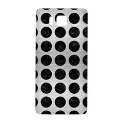 Circles1 Black Marble & Silver Brushed Metal (r) Samsung Galaxy Alpha Hardshell Back Case by trendistuff
