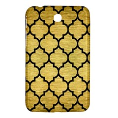 Tile1 Black Marble & Gold Brushed Metal (r) Samsung Galaxy Tab 3 (7 ) P3200 Hardshell Case  by trendistuff