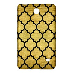 Tile1 Black Marble & Gold Brushed Metal (r) Samsung Galaxy Tab 4 (7 ) Hardshell Case