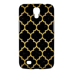 Tile1 Black Marble & Gold Brushed Metal Samsung Galaxy Mega 6 3  I9200 Hardshell Case by trendistuff