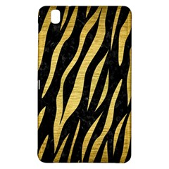 Skin3 Black Marble & Gold Brushed Metal Samsung Galaxy Tab Pro 8 4 Hardshell Case by trendistuff