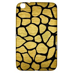 SKN1 BK MARBLE GOLD Samsung Galaxy Tab 3 (8 ) T3100 Hardshell Case  by trendistuff