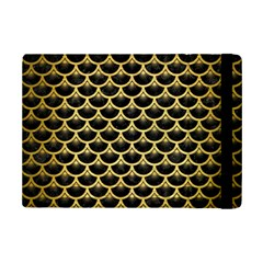Scales3 Black Marble & Gold Brushed Metal Apple Ipad Mini 2 Flip Case by trendistuff